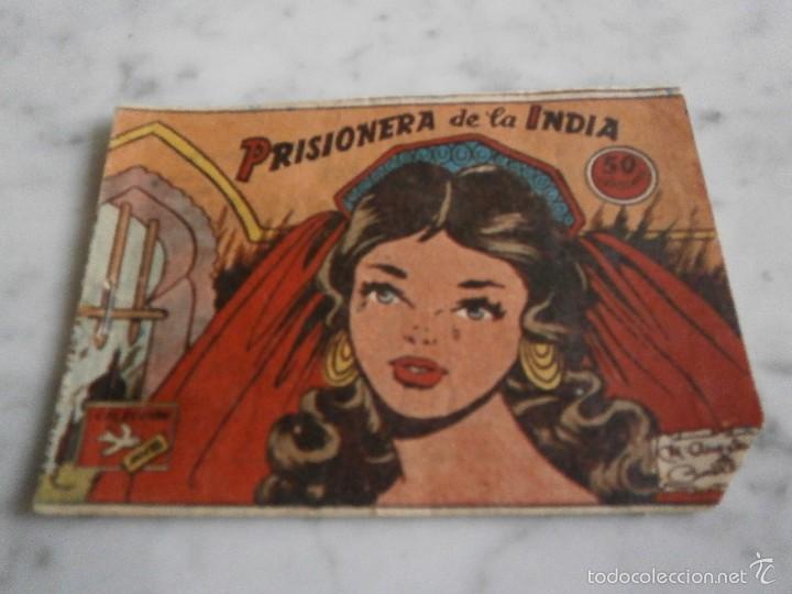 COMICS - PRISIONERA DE LA INDIA - Nº 272 (Tebeos y Comics - Ricart - Ave)