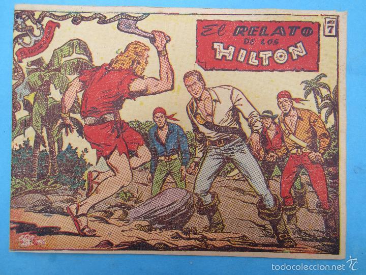 EL CORSARIO AUDAZ , N. 7 , EL RELATO DE LOS HILTON (Tebeos y Comics - Ricart - Otros)