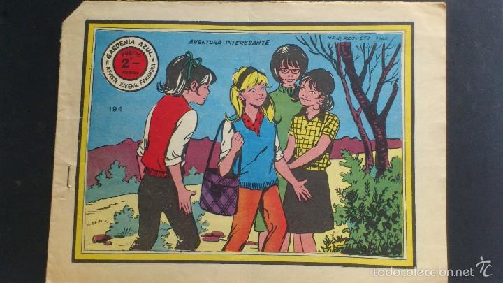 GARDENIA AZUL, AVENTURA INTERESANTE, AÑO 1959 (Tebeos y Comics - Ricart - Sentimental)