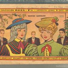 Tebeos: TEBEOS-COMICS GOYO - ROSA - Nº 27 - RICART - 1959 - MUY DIFICIL *UU99. Lote 57497991