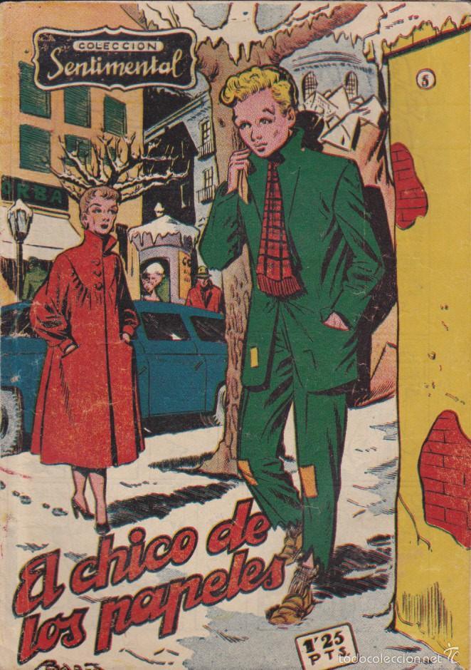 COMIC COLECCION SENTIMENTAL Nº 5 (Tebeos y Comics - Ricart - Sentimental)