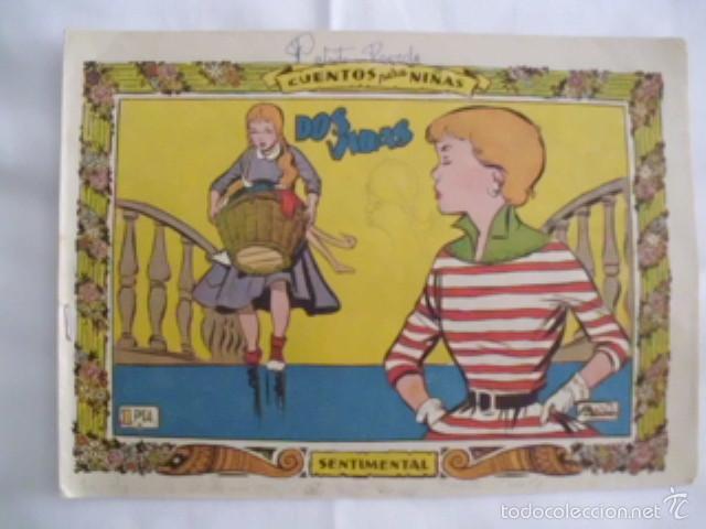 LOTE DE DOS TEBEOS, AÑO 1959 - UNO DE LA COLECCIÓN SENTIMENTAL; EL OTRO DE COLECCIÓN MARY CRUZ (Tebeos y Comics - Ricart - Sentimental)