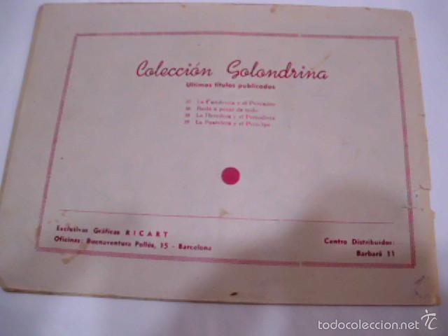 Tebeos: CUANDO TODO ERA BONITO - LOTE DE DOS TEBEOS COLECCIÓN GOLONDRINA - AÑOS 50 - Foto 5 - 57693580