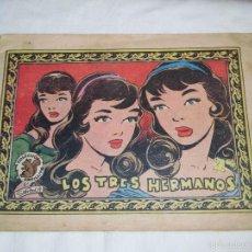 Tebeos: LOS TRES HERMANOS.COLECCION ARDILLITA Nº 617. Lote 155718373