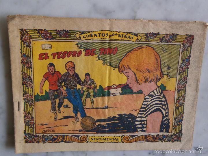 CUENTOS PARA NIÑAS - SENTIMENTAL EL TESORO DE TINO - Nº 304 (Tebeos y Comics - Ricart - Sentimental)