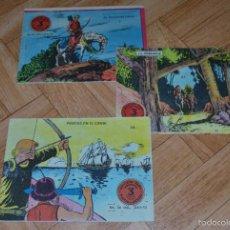 Tebeos: FLECHA Y ARTURO Nº 1, 21 Y 24. EDITORIAL RICART. Lote 57891665