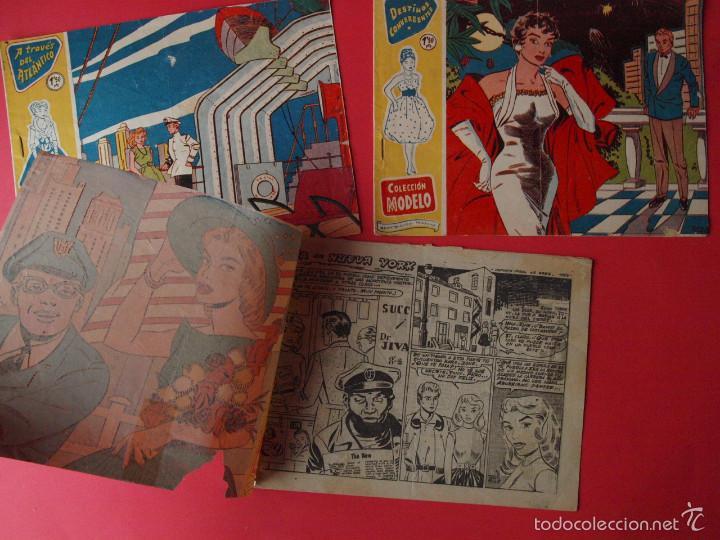 Tebeos: 3 TEBEOS COLECCIÓN MODELO, EXCLUSIVAS GRÁFICAS RICART, BARCELONA, 1958 - Nº 1, 4 Y 7 - Foto 2 - 58008399