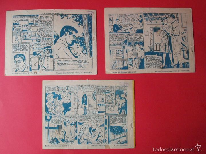 Tebeos: 3 TEBEOS COLECCIÓN MODELO, EXCLUSIVAS GRÁFICAS RICART, BARCELONA, 1958 - Nº 1, 4 Y 7 - Foto 3 - 58008399