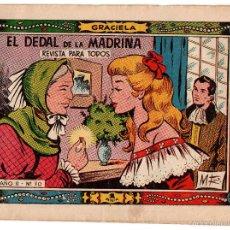 Tebeos: EL DEDAL DE LA MADRINA COLECCIÓN GRACELA Nº70. Lote 58217056