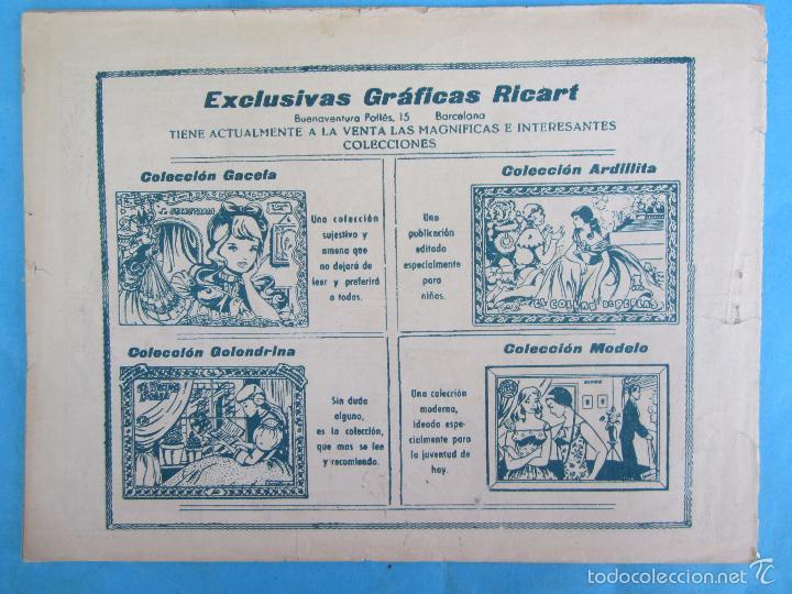 Tebeos: sentimental numero 10 , una chica de provincia , 20 paginas , de los primeros 1959 , ricart - Foto 5 - 58273772