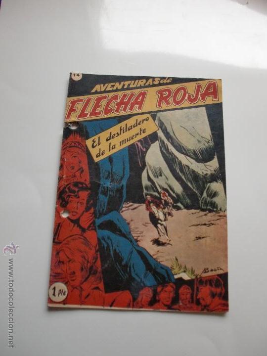 AVENTURAS DE FLECHA ROJA Nº 14 ORIGINAL (Tebeos y Comics - Ricart - Otros)