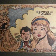Tebeos: TEBEO - COMIC - COLECCION GACELA - REPOSO EN LA ALDEA - CUENTOS NIÑAS - RICART - AÑO 1959 - Nº 127. Lote 58594926