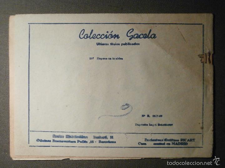 Tebeos: TEBEO - COMIC - COLECCION GACELA - REPOSO EN LA ALDEA - CUENTOS NIÑAS - RICART - AÑO 1959 - Nº 127 - Foto 2 - 58594926