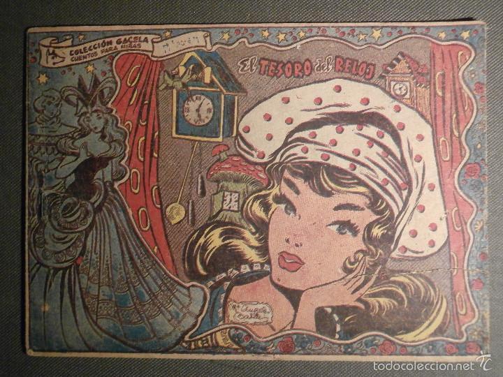 TEBEO - COMIC - COLECCION GACELA - EL TESORO DEL RELOJ - RICART - AÑO 1959 - Nº 132 (Tebeos y Comics - Ricart - Gacela)