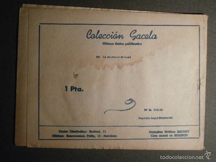 Tebeos: TEBEO - COMIC - COLECCION GACELA - LA PROFESORA DE LAÚD - CUENTOS NIÑAS - RICART - AÑO 1959 - Nº 126 - Foto 2 - 58594995