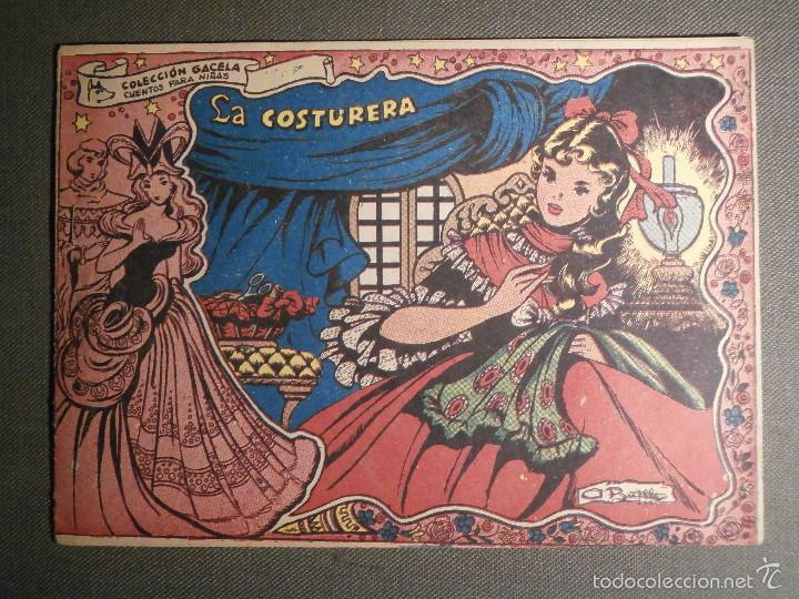 TEBEO - COMIC - COLECCION GACELA - LA COSTURERA - CUENTOS PARA NIÑAS - RICART - AÑO 1959 - Nº 139 (Tebeos y Comics - Ricart - Gacela)