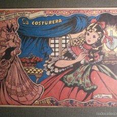 Tebeos: TEBEO - COMIC - COLECCION GACELA - LA COSTURERA - CUENTOS PARA NIÑAS - RICART - AÑO 1959 - Nº 139. Lote 58595029