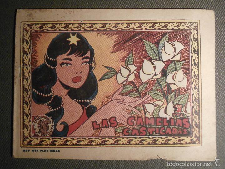 TEBEO - COMIC - COLECCION ARDILLITA - LAS CAMELIAS CASTIGADAS - RICART - Nº 679 - AÑO 1958 (Tebeos y Comics - Ricart - Otros)