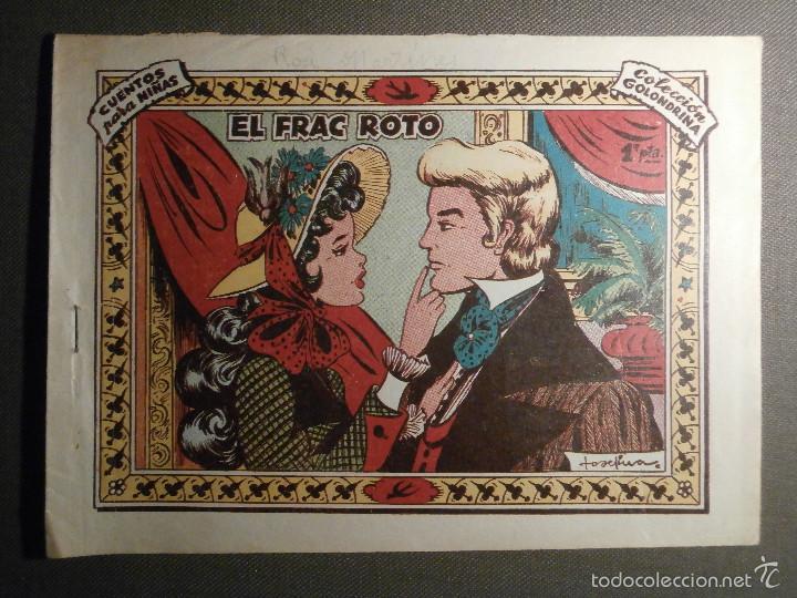 TEBEO - COMIC - COLECCION GOLONDRINA - EL FRAC ROTO - RICART - Nº 3 (Tebeos y Comics - Ricart - Golondrina)