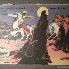 Tebeos: TEBEO - COMIC - WINCHESTER JIM - LA GRAN AZAÑA DE DAVE - Nº 11 - RICART - 1956 - ORIGINAL. Lote 58602007
