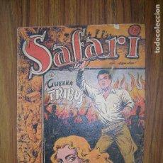 Tebeos: SAFARI GUERRA DE TRIBUS Nº8 ORIGINAL AÑO 1954. Lote 64011875