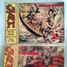 Tebeos: SAFARI Nº 3 Y 5. RICART, 1963. USADOS.. Lote 66536054