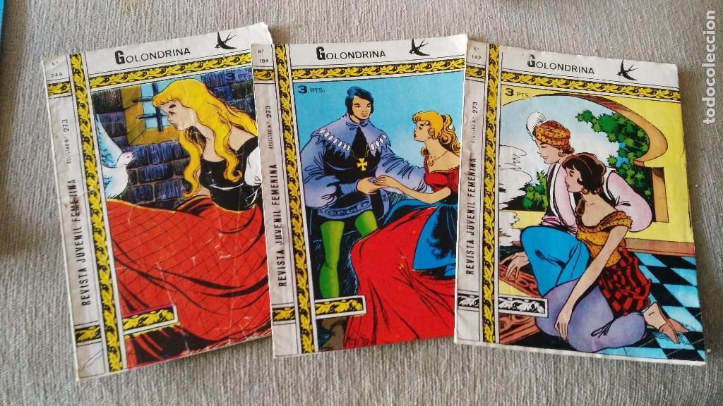 GOLONDRINA - REVISTA JUVENIL FEMENINA - 184-192-249 (Tebeos y Comics - Ricart - Golondrina)