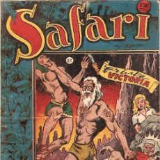Tebeos: COMIC ORIGINAL SAFARI Nº21. Lote 70372605