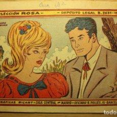 Tebeos: COLECCIÓN ROSA, Nº 56,1959 - EL HADA MADRINA - GRÁFICAS RICART - VER FOTOS. Lote 72404175