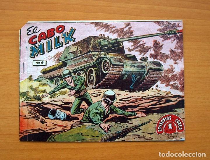 EPISODIOS DE COREA - Nº 6 EL CABO MILK - EDITORIAL RICART 1952 (Tebeos y Comics - Ricart - Otros)