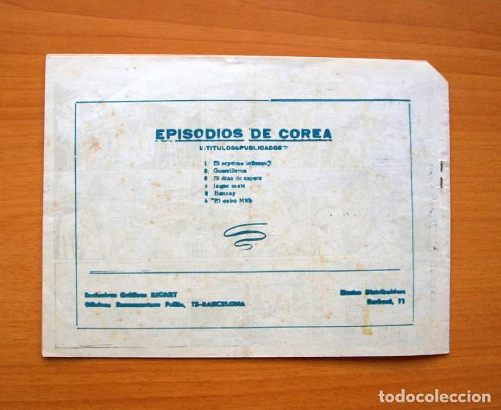 Tebeos: Episodios de Corea - nº 6 El cabo Milk - Editorial Ricart 1952 - Foto 5 - 72442211