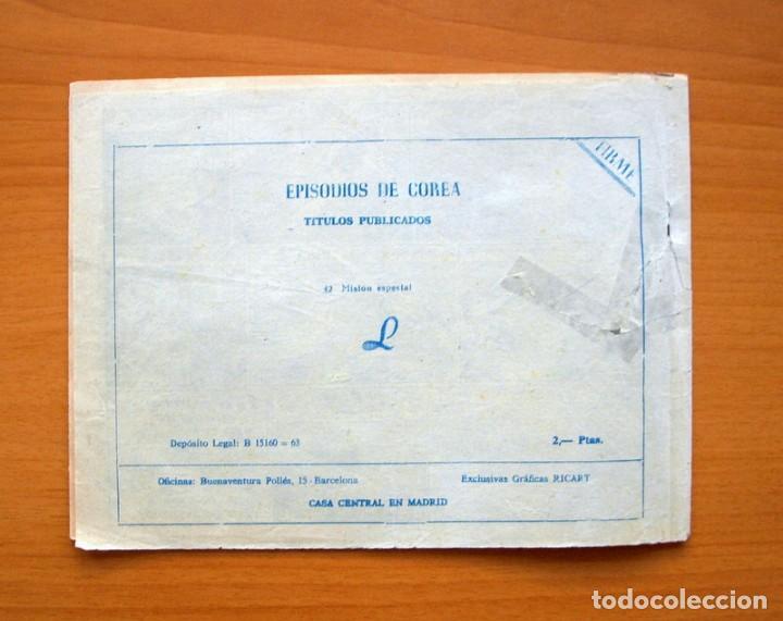 Tebeos: Episodios de Corea - de 2 pesetas nº 42 Misión especial - Editorial Ricart 1963 - Foto 5 - 72442391