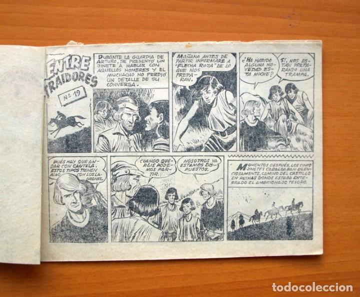 Tebeos: Flecha y Arturo - de 3 pesetas nº 19 - Editorial Ricart - Foto 2 - 72444107