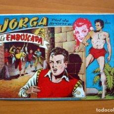 Tebeos: JORGA PIEL DE BRONCE - Nº 17 LA EMBOSCADA - EDITORIAL RICART 1954. Lote 72446003