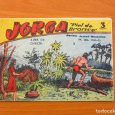 Tebeos: JORGA PIEL DE BRONCE - DE 3 PESETAS - Nº 3 - EDITORIAL RICART. Lote 72446603