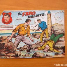 Tebeos: MARK CLAYTON - Nº 5 EL FARO MALDITO - EDITORIAL RICART 1954. Lote 72447035