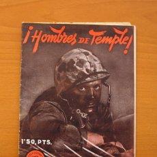 Tebeos: SELECCIONES DE GUERRA - Nº 4 HOMBRES DE TEMPLE - RICART 1951. Lote 72447351