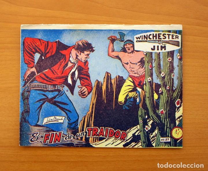 WINCHESTER JIM - DE 2 PESETAS - Nº 27 EL FIN DE UN TRAIDOR - EDITORIAL RICART (Tebeos y Comics - Ricart - Otros)