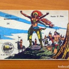 Tebeos: WINCHESTER JIM - DE 2 PESETAS - Nº 24 PACTO QUEBRANTADO - EDITORIAL RICART. Lote 72448103
