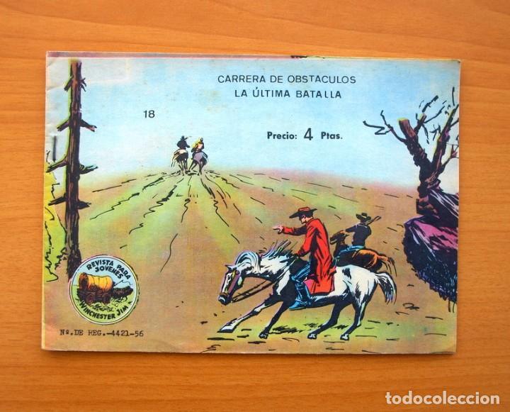 WINCHESTER JIM - DE 4 PESETAS - Nº 18 - EDITORIAL RICART (Tebeos y Comics - Ricart - Otros)
