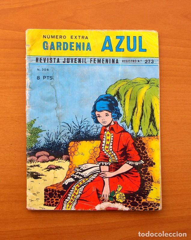 COLECCIÓN GARDENIA AZUL - Nº 306 - EDITORIAL RICART (Tebeos y Comics - Ricart - Otros)