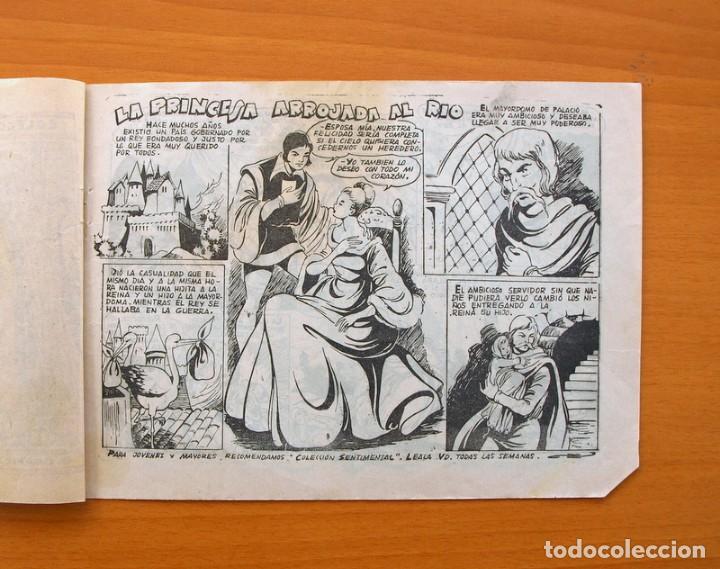 Tebeos: Colección Rosa - nº 40 La princesa arrojada al rio - Editorial Ricart - Foto 2 - 72455411