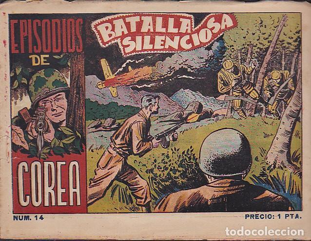 EPISODIOS DE COREA Nº 14 (Tebeos y Comics - Ricart - Otros)