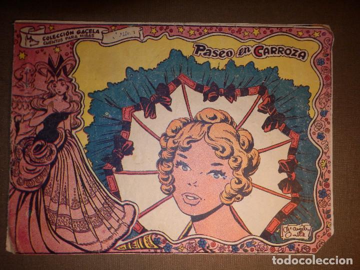 TEBEO - COMIC - COLECCION GACELA - PASEO EN CARROZA - RICART - AÑO 1959 - Nº 59 (Tebeos y Comics - Ricart - Gacela)