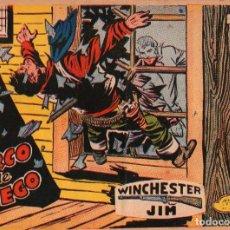 Tebeos: WINCHESTER JIM - Nº 31 - CERCO DE FUEGO - EDITORIAL RICART - ORIGINAL 1965 (2 PTAS). Lote 74560947