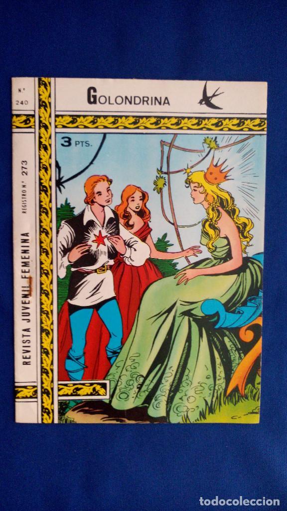 REVISTA JUVENIL GOLONDRINA Nº 240 - RICART (Tebeos y Comics - Ricart - Golondrina)