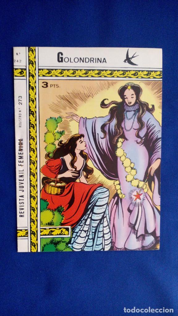 REVISTA JUVENIL GOLONDRINA Nº 242 - RICART (Tebeos y Comics - Ricart - Golondrina)