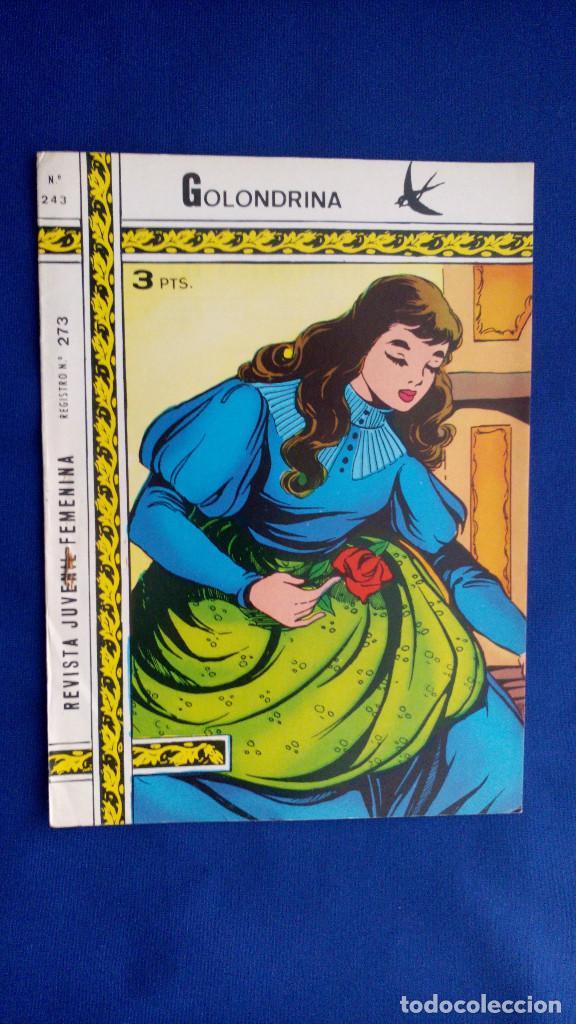REVISTA JUVENIL GOLONDRINA Nº 243 - RICART (Tebeos y Comics - Ricart - Golondrina)