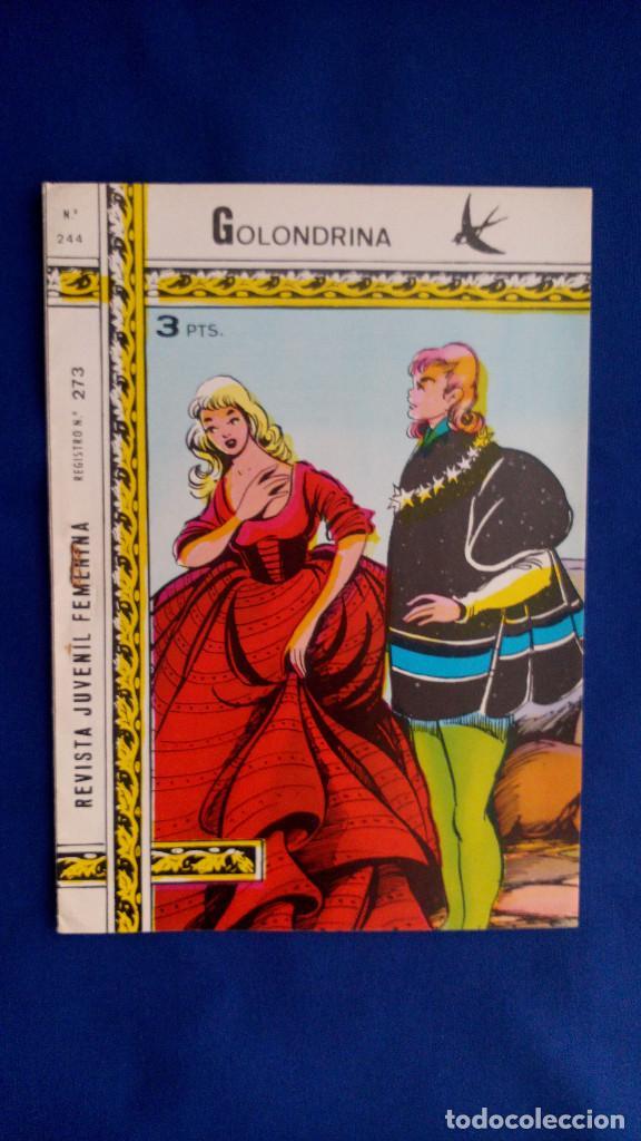 REVISTA JUVENIL GOLONDRINA Nº 244 - RICART (Tebeos y Comics - Ricart - Golondrina)