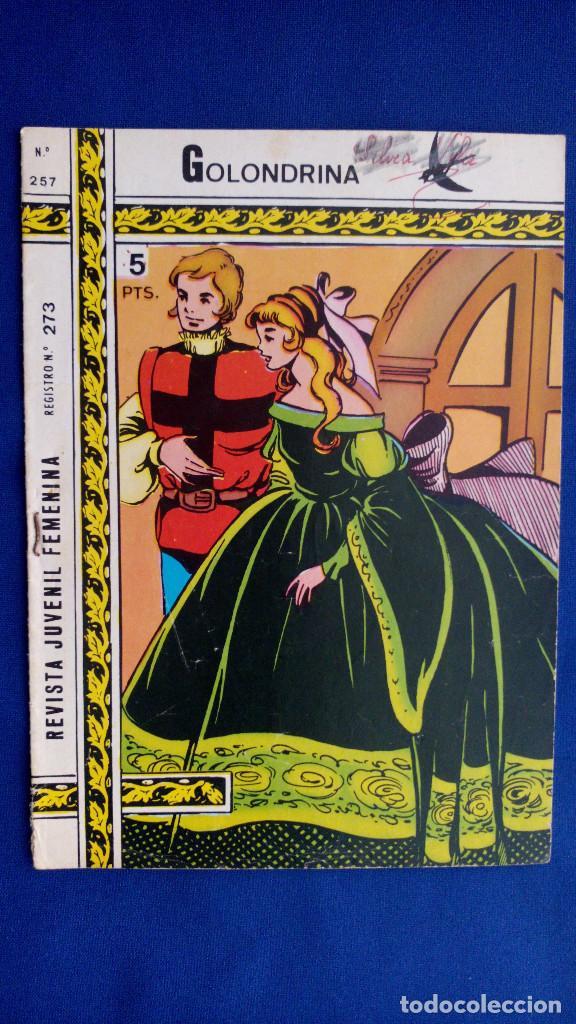 REVISTA JUVENIL GOLONDRINA Nº 257 - RICART (Tebeos y Comics - Ricart - Golondrina)